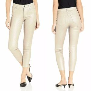 NWT Ella Moss Anthropologie Skinny Coated Jeans